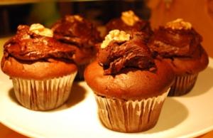 Beatroot cupcakes