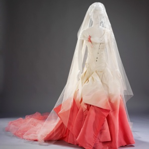 Gwen Steafani's Dior wedding gown