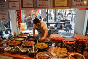 Indian Food Stall
