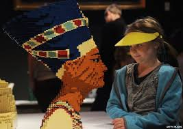 Egyptian Queen in Legos