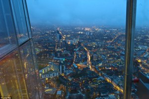 From the top of the Shard