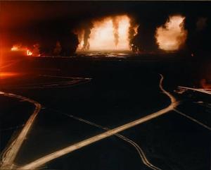 Fait, by Sophie Ristelhueber. Kuwait, 1991. First Gulf War.