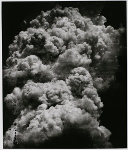 Mushroom Cloud, Hiroshima by Toshi Fukada